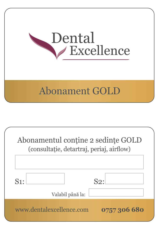 Abonament gold