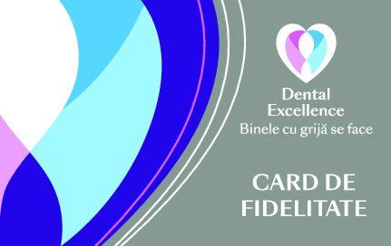 card fidelitate implant dentar